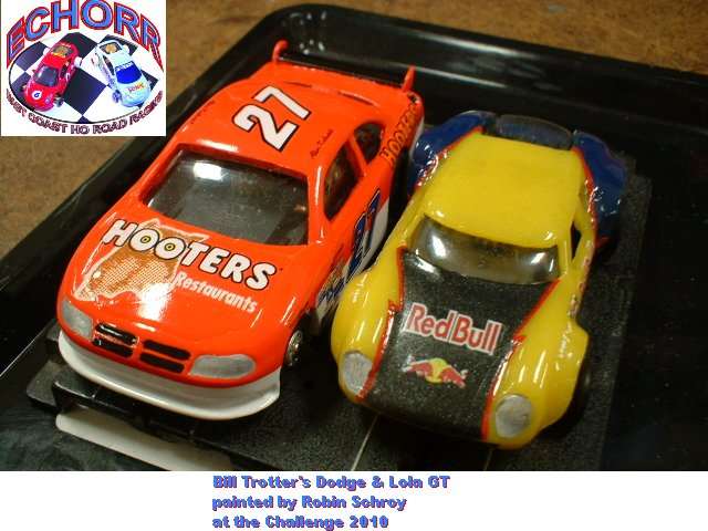 Bill Trotter's NASCARZ Dodge & Lola GT