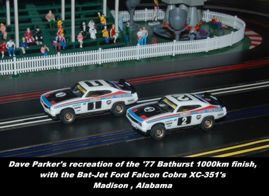 Dave Parker's '77 Bathurst 1000km winning Ford Falcons