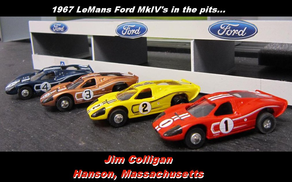 Jim Colligan's Bat-Jet Ford MkIV collection